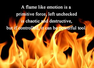 anger like a flame