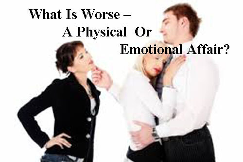 emotional affair or physical affair